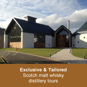 Exclusive and Tailored ~ Scotch malt whisky distillery tours