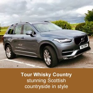 Tour Whisky County ~ stunning Scottish countryside in style