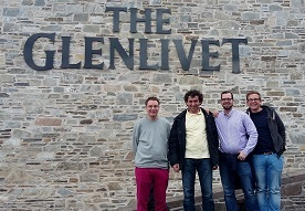 Speyside Whisky Escorted Car Tour glenlivet distillery Scotland